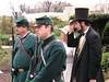 President Lincoln arrives