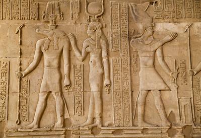 The Egyptian god Sobek was portrayed as a crocodile.