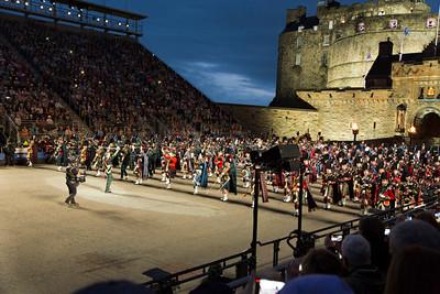 Edinburgh Castle -Military Tattoo
