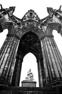 The Scott Momument -dedicated to Sir Walter Scott