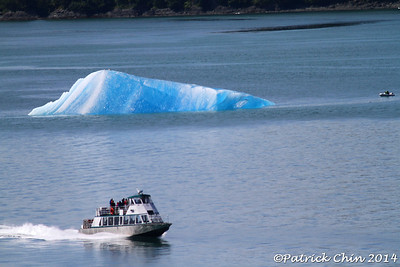 Ice berg in the Tracy Arm Fjord