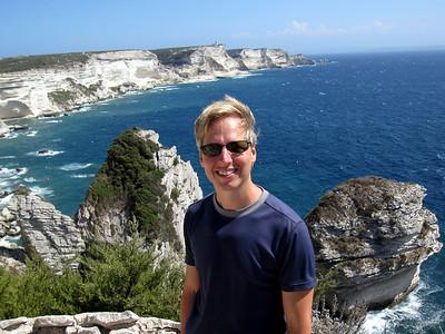 Me on the Cliffs of Bonifacio