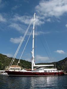 Huge Sail boat