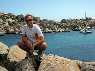 Exploring the Iles Lavezzi off the coast of Bonifacio