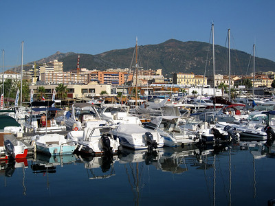 Harbor in Ajaccio