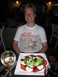 Tomato Mozzarella Salad! Yum!