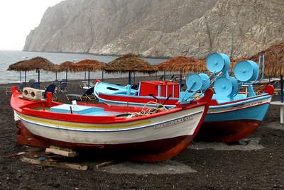 The Black Beach of Kamari