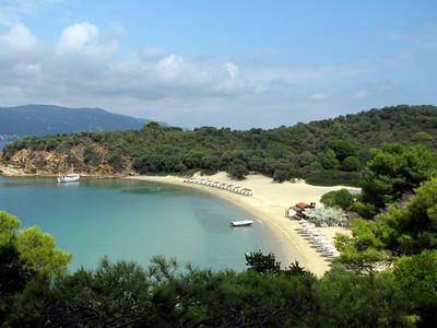 Tsougria Island Beach