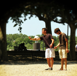 A game of boules.