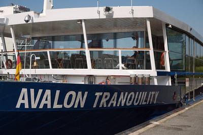 Avalon Tranquility...Danube Cruise Ship