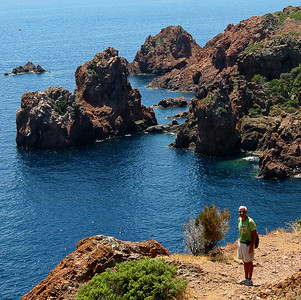 Hiking in Agay