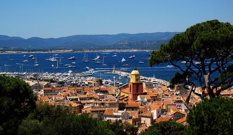 St. Tropez harbor