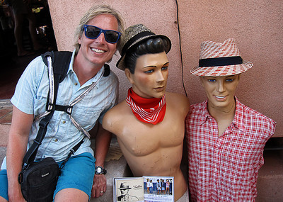 My new friends in st. Tropez