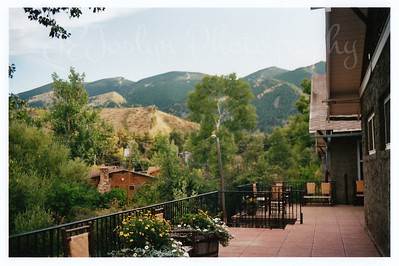Eatons' Ranch, Dinning Hall terrace