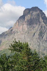 Glacier Park-Two Medicine range - Sinopah Mountain but in libraryphoto.cr.usgs.gov, this is called Mount Rockwell. 8-2009