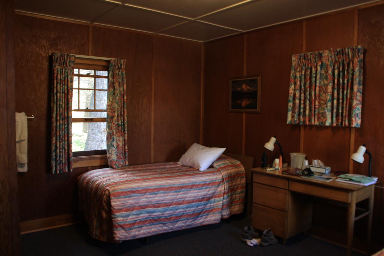 Glacier Park, MT.  Swiftcurrent Motor Inn room.  8-2009