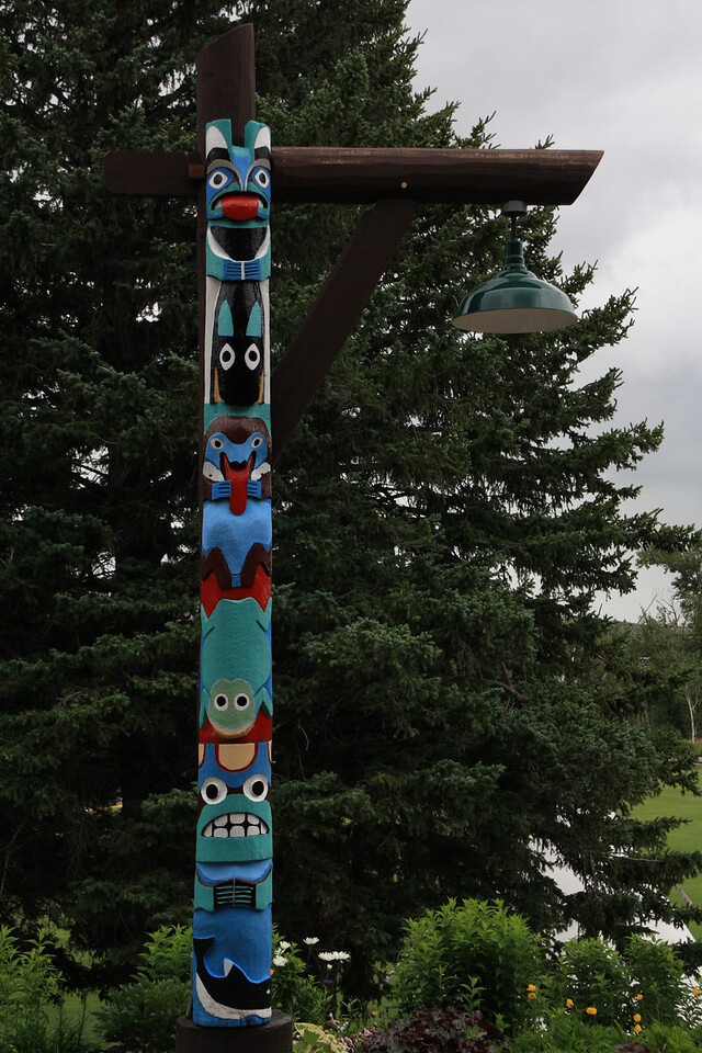 Glacier Park Lodge-East Glacier, Montana.   8-2009