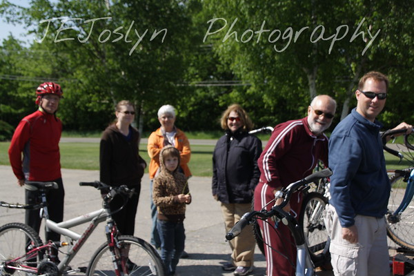 Upper/lower Michigan, bicycle trip with Cousins and Friends, including the Mackinac Island.