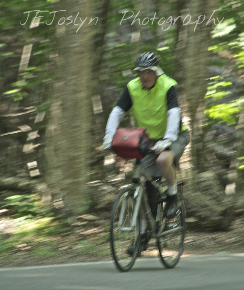 Ernie - Upper/lower Michigan, bicycle trip with Cousins and Friends, including the Mackinac Island.