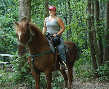 CLAY - Horse Trip-Forestville MN State Park-8-28-10