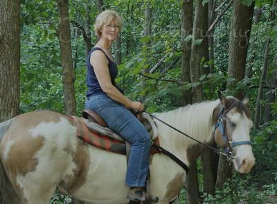 SARGE - Horse Trip-Forestville MN State Park-8-28-10