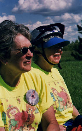 The friends from Hutchinson - Bike Ride, June, 2006, Mesabi Trail, northern Minnesota