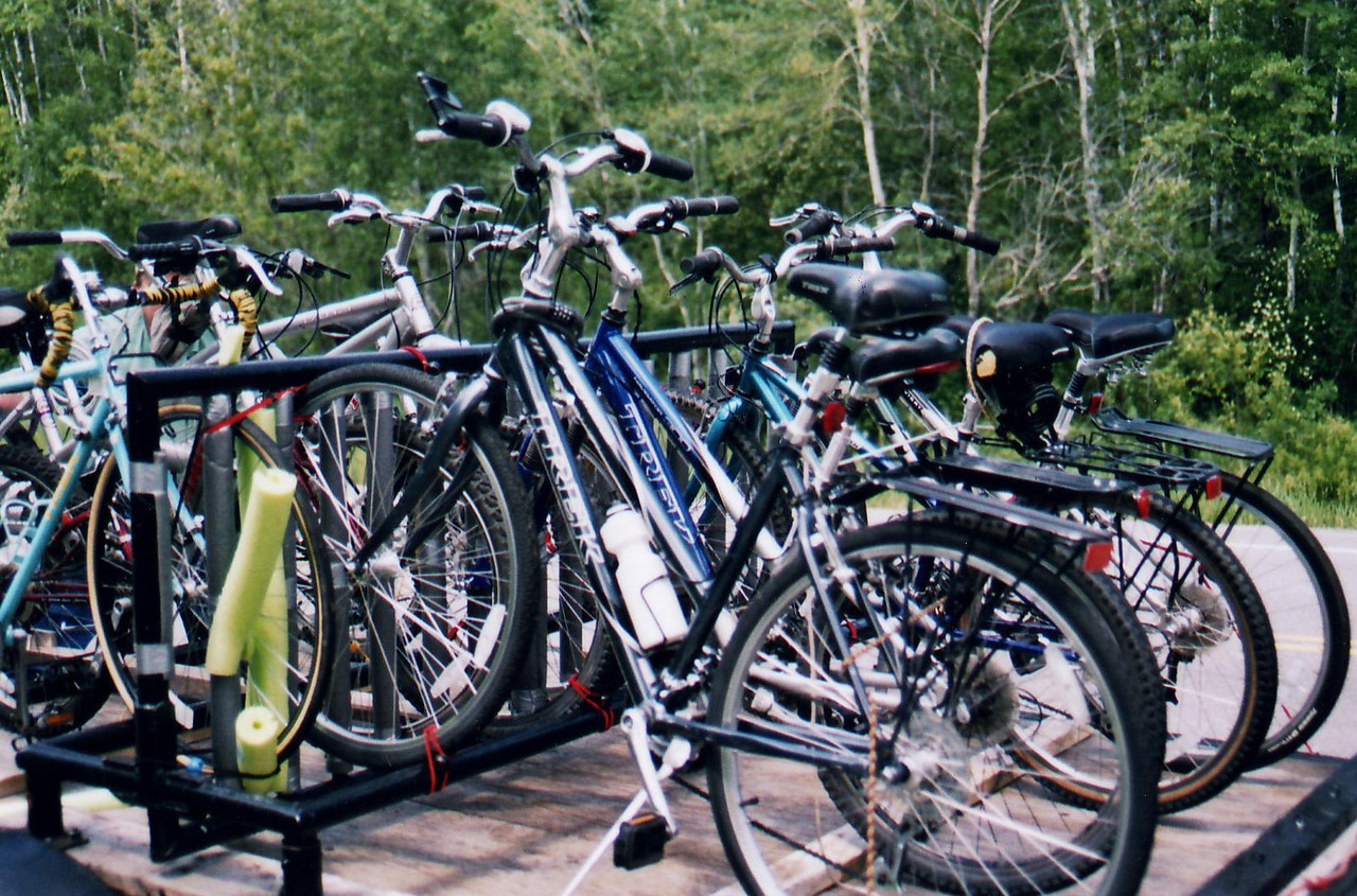 The Bikes - Bike Ride, June, 2006, Mesabi Trail, northern Minnesota