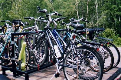 The Bikes - Bike Ride, June, 2006, Mesabi Trail, northern Minnesota
