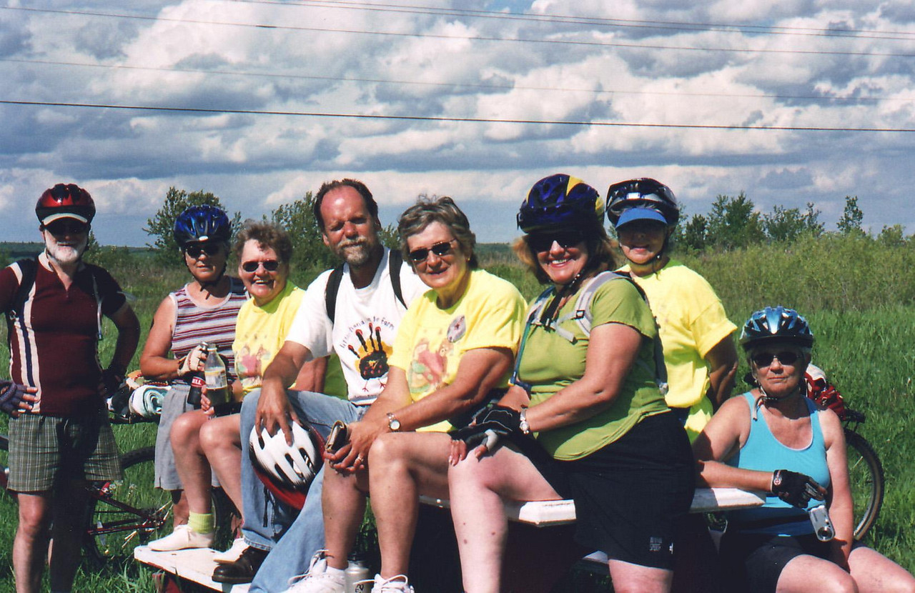 The Riders - Bike Ride, June, 2006, Mesabi Trail, northern Minnesota