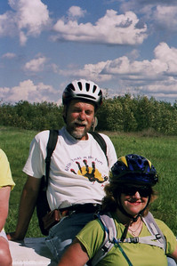 The friends from Texas - Bike Ride, June, 2006, Mesabi Trail, northern Minnesota