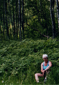 The Cousin - Bike Ride, June, 2006, Mesabi Trail, northern Minnesota