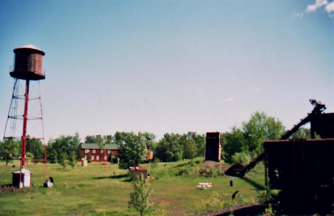 Iron World - Chisholm.  Bike Ride, June, 2006, Mesabi Trail, northern Minnesota