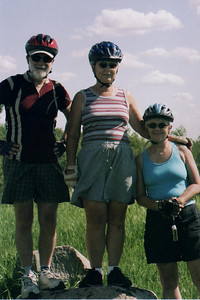 The Cousins - Bike Ride, June, 2006, Mesabi Trail, northern Minnesota