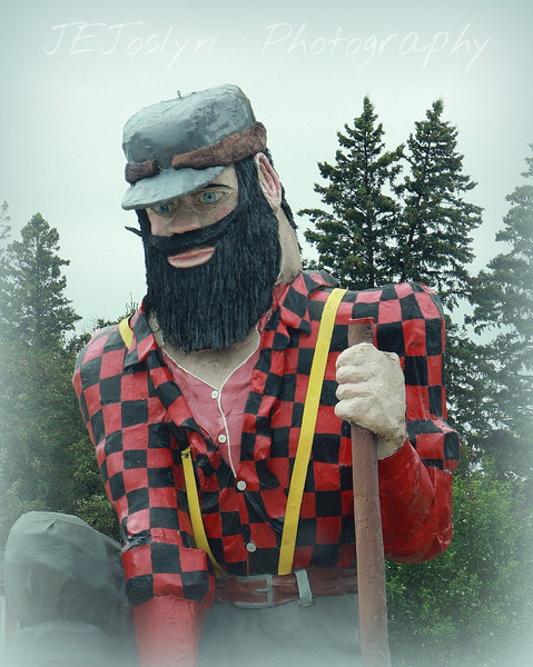 Paul Bunyan.   Akeley, MN