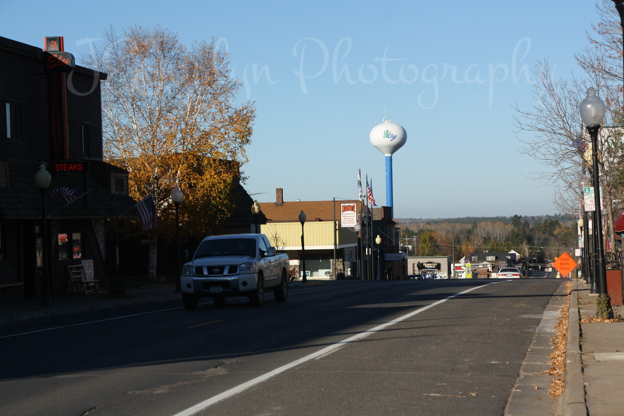 Ely, MN, West end of town.