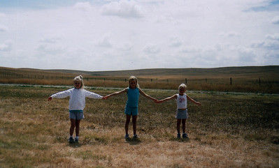 Wide wide west, well South Dakota at least, and it's over three children wide!