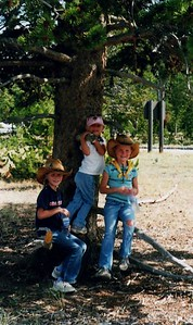Being out West, COWBOY HATS were a must, here are the new hats.
