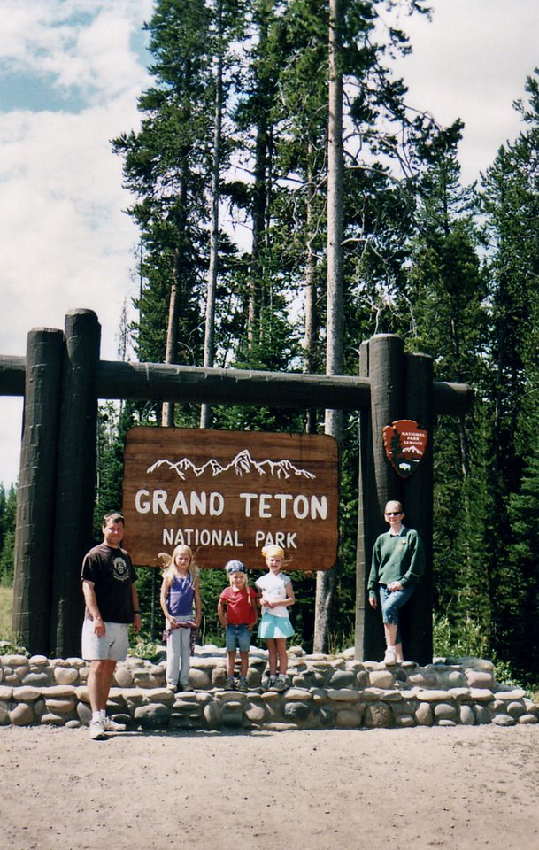 Yup, The Grand Tetons, part of our 2007 Yellowstone Adventures.