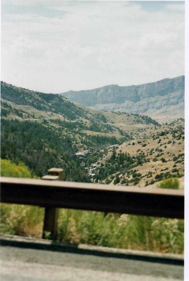 Beartooth Highway views.