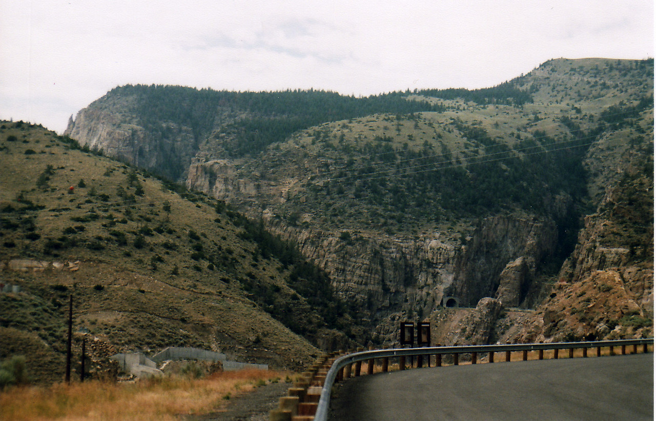 Big Horn Mountain Highway views, Hwy 14A.