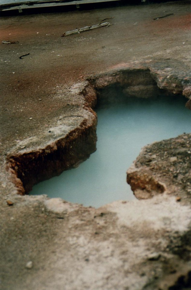 You know this, it's Artist Paint Pots, Yellowstone National Park, Wyoming