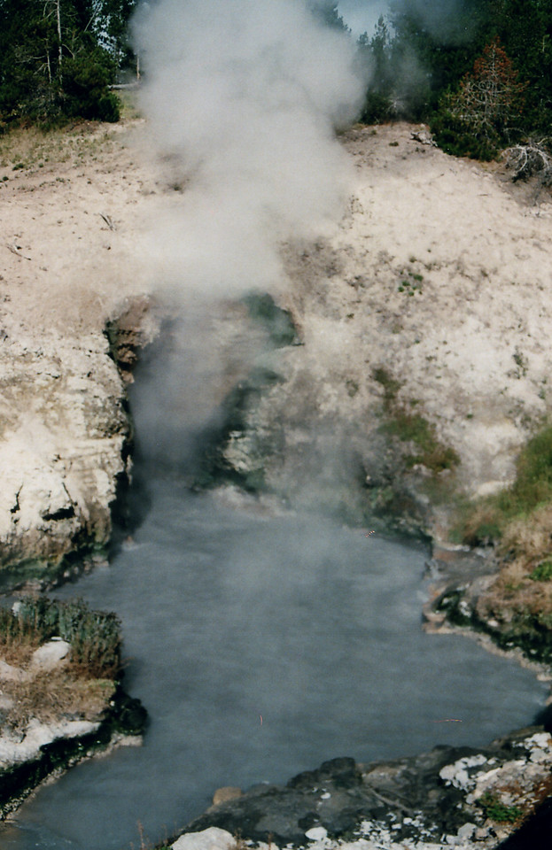You know this, it's Yellowstone National Park, Wyoming