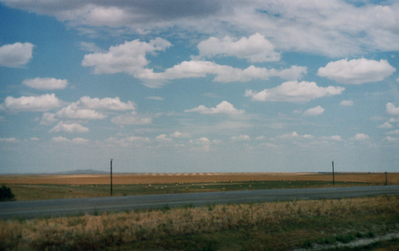 South Dakota, as we ended the Yellowstone 2007 Adventure and returned into the great state of Minnesota, with her hills, rivers, streams, trees, but no geysers to be found.