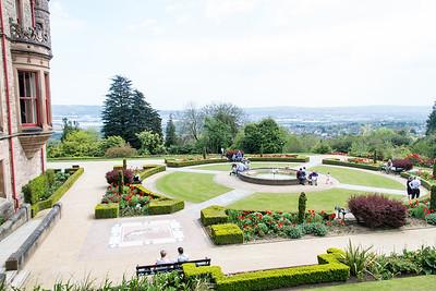 Belfast Castle's Cat Garden