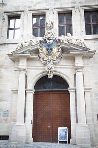 Altes Rathaus Door