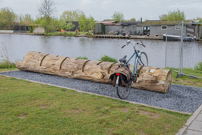 BIke Rack in Kinderdijk
