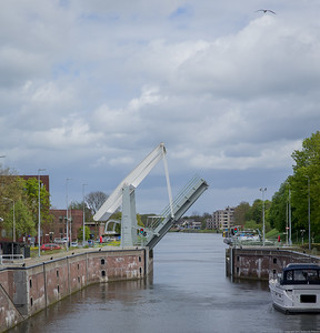 A Small Drawbridge in Amsterdam