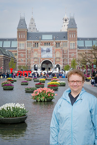 Pam and the Rijksmuseum