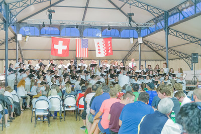 Choir Performance in Crans-Montana
