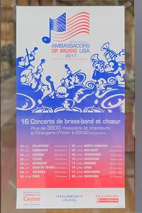 Ambassadors Poster in Crans-Montana